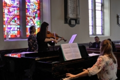 Summer Music in Sandford 2016: Cahill, Banciu and Newman. 1st July. Photo: A. Cras