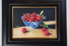 Cherries in Chinese Bow