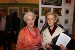 At the opening of Art Sale and Exhibition, St Philip's Hall. 29 October 2015. Photo: D. Wynne