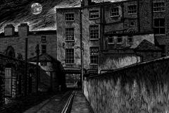 Night - Back Lane