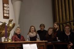 Carol Singing at St Philip's. Photo: A. Cras