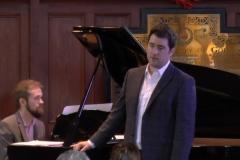 Euros Campbell (Baritone) and Derek Moylan (Piano). Photo: A. Cras.