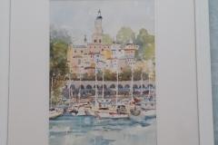 Boats at Menton