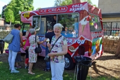 Ice-cream Sunday in St Philip's! 18th June 2017. Photo: D. Wynne
