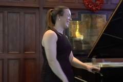 Maria Greenan (Piano). Photo: A. Cras.