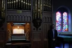 Music at Sandford, Summer 2015: Organ recital in August. Photo: A. Cras