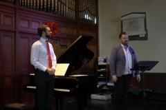 Ross Scanlon (Tenor) and David O'Shea (Piano). Photo: A. Cras