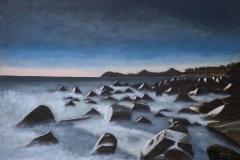 """Killiney Beach at dawn"""