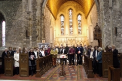 Choral Scholars, Choral Union and Kildare Cathedral Choir, 14th April. Photo: A. Cras