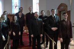 Peregryne Vocal Ensemble. Photo: A. Cras