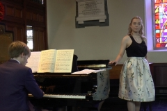 Summer Music at Sandford: Aoife Gibney (Soprano) and Killian Farrell (Piano) Photo: A. Cras