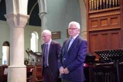 Padraig O'Rourke and Michael Grant. Photo: A. Cras